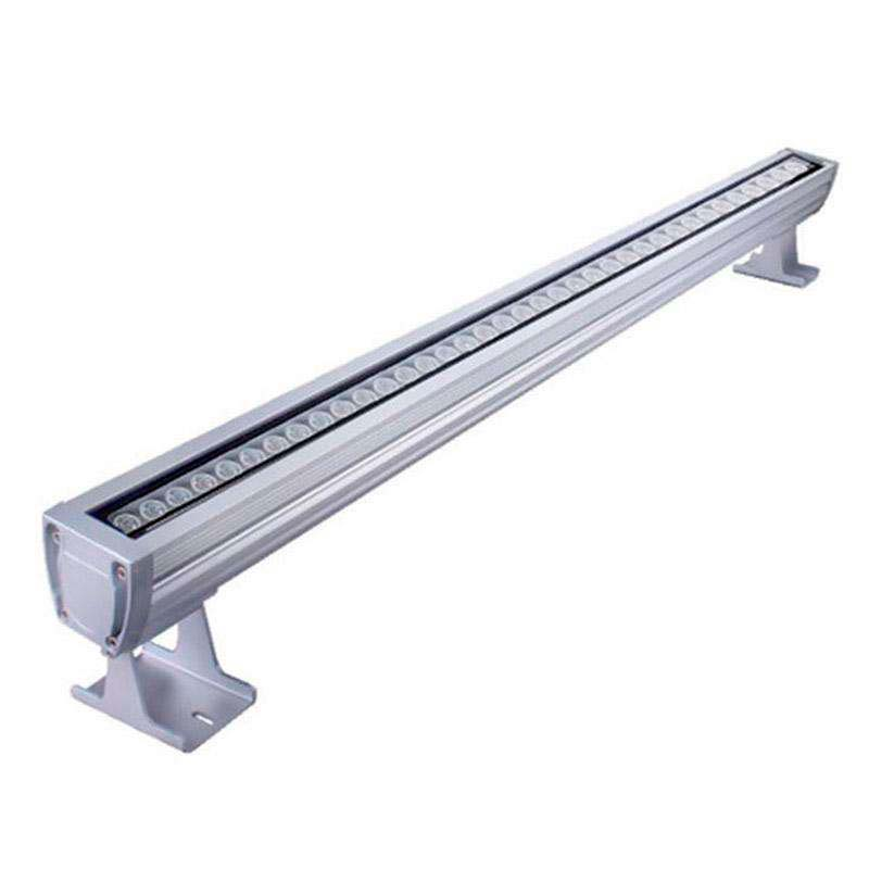 Linear LED Wall Washer RGB-DMX512, 24W, 220V, 1m, RGB